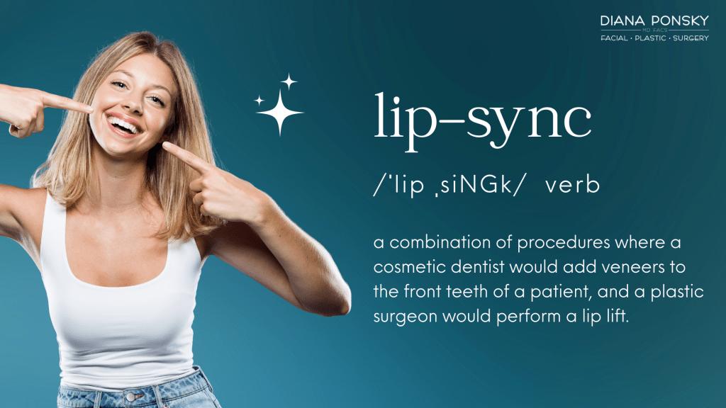 Lip Sync Cosmetic Procedure